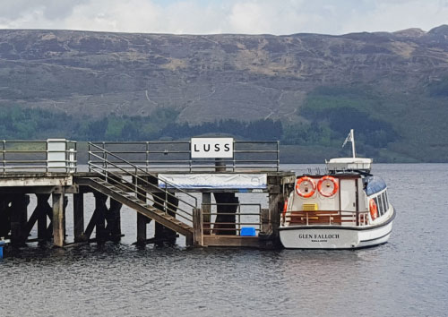 Water Bus Loch Lomond